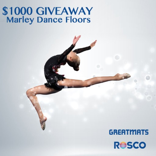 Greatmats Giving Away Rosco Marley Dance Flooring