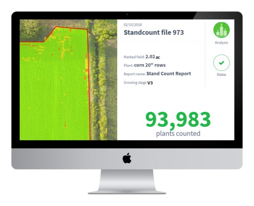 Agribotix Introduces New Plant Count Report Providing Advanced Analytics