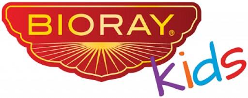 BIORAY Kids, maker of herbal supplements for children, Announces Website Makeover