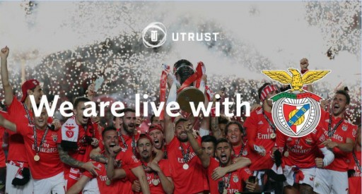 UTRUST and S.L. Benfica Partner to Become First Major European Football Club to Accept Cryptocurrency