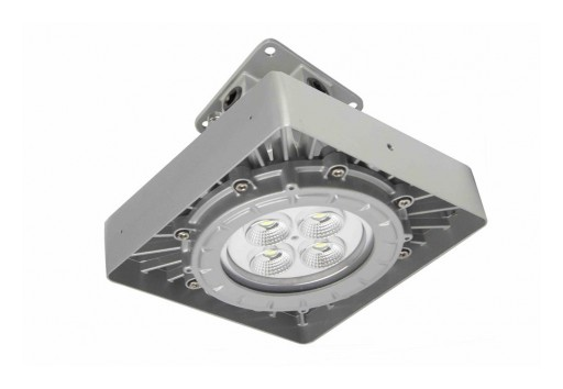 Larson Electronics Releases Explosion Proof Low Bay LED Fixture, 50W, 7,000 Lumens, Paint Spray Booth Approved