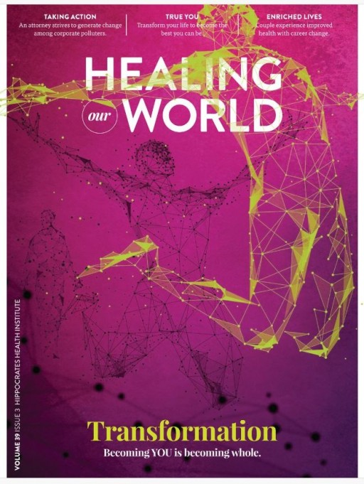 Hippocrates Health Institute Publishes Quarterly Magazine With Distribution to Hundreds of Thousands Worldwide