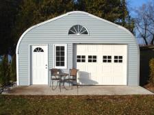 Arch Style Steel Garage Building