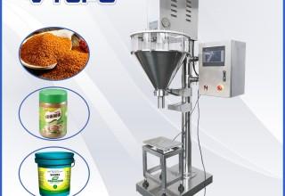 Net Weight Auger Filler with Weighing Desk | VTOPS-P2D