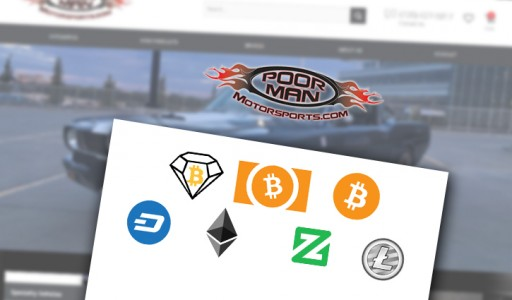 Poor Man Motorsports to Accept Cryptocurrency Payments Including Bitcoin Diamond (BCD)
