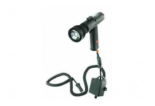 Larson Electronics Releases 3W Infrared LED Pistol Grip Spotlight W/ Inline Dimmer, 16' Coil Cord