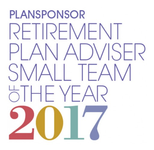 Washington Financial Group Named 2017 PLANSPONSOR Retirement Plan Adviser of the Year