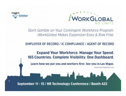 iWorkGlobal to Exhibit at 2018 HR Technology Conference
