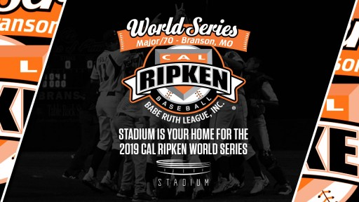 Stadium Becomes Exclusive Home for 2019 Cal Ripken Major/70 World Series