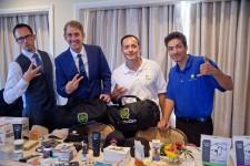 BudTrader Team at Pre-Award Show Celebrity Gift Lounge