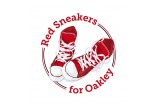 Red Sneakers for Oakley Logo