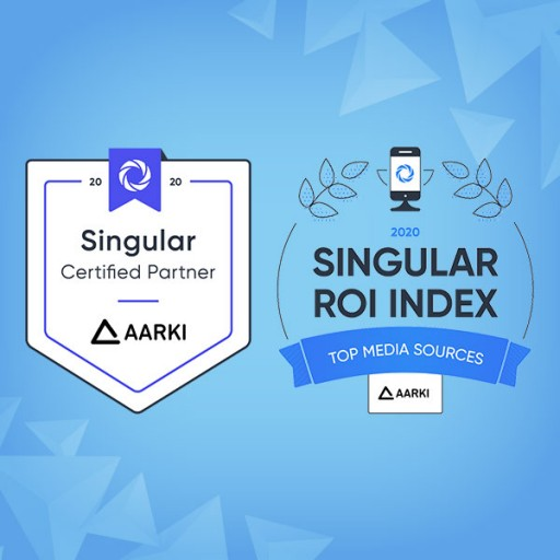 Aarki Selected as a Singular Certified Partner and Ranked in the Singular ROI Index 2020