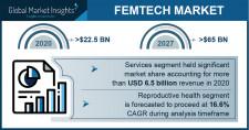 Femtech Market Growth Predicted at 16.2% Through 2027: GMI