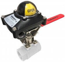 Manual Limit Switch- Lead Free Brass Ball Valve