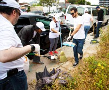 Hollywood's Village Cleanup