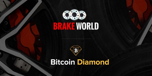 Brake World to Accept Cryptocurrency Payments Including Bitcoin Diamond (BCD)