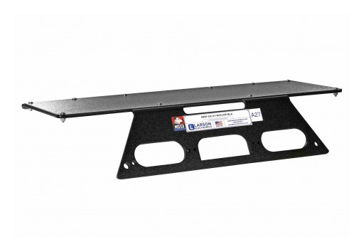 Larson Electronics Releases No-Drill Rooftop Mounting Bracket for 2017 Ford F250-F550 Super Duty