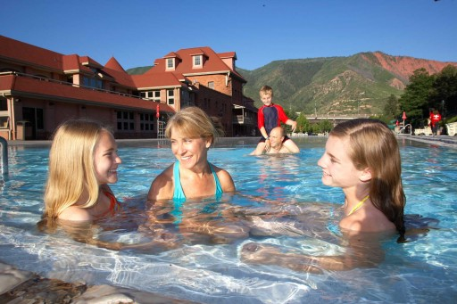 Glenwood Hot Springs - summer family
