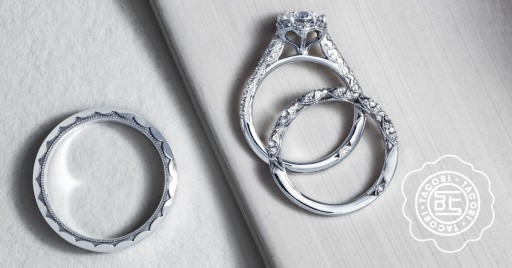 GMG Jewellers Offers Savings on Tacori Wedding Rings During 'Wedding Band Welcome' Promotion