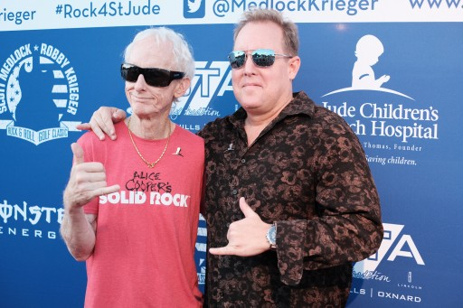 The Doors Robby Krieger and Artist Scott Medlock Break Fundraising Targets in 10th Annual Event for St. Jude's