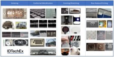 """Examples of various applications covered in this article: sintering, conformal metallization, forming and stretching, and fine-feature printing: Companies whose work is shown include Optomec, Ntrium, Henkel, DuPont, Danfoss, Tesla, Alpha Assembly, Toyobo, TaktoTek, Asahi Kasei, Komura-Tech, Toray, O-Film, Dowa, Bando Chemical, GIS, Fujikura Kasei, MNTech, ConnecTech, J.W. Speaker, Atra Plastics, and others. For more information on all these examples and many more examples across many applications areas please visit """"Conductive Ink Markets 2019-2029: Forecasts, Technologies, Players"""""""