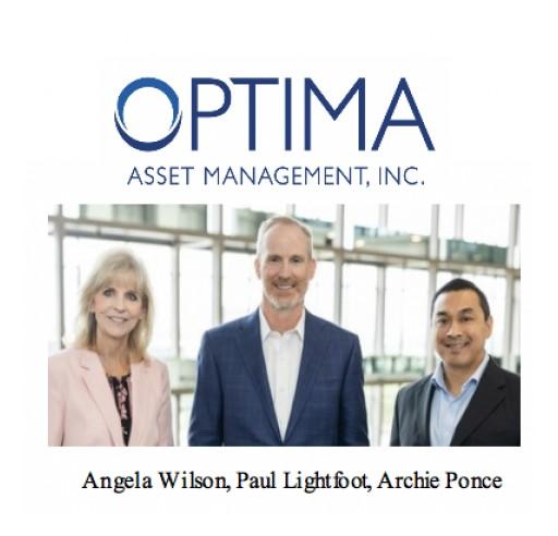 Optima Asset Management Relocates, Announces New Website