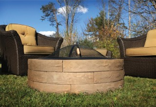 New - Fire Pit Kit