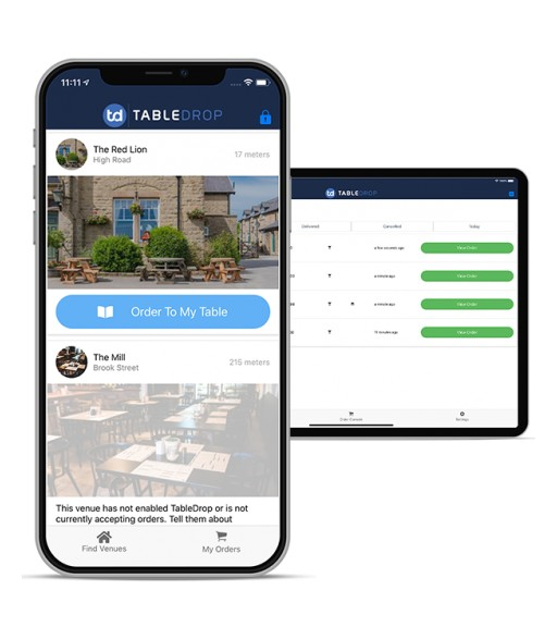Introducing TableDrop: The New Approach to Table Service & Order Management for Bars & Restaurants