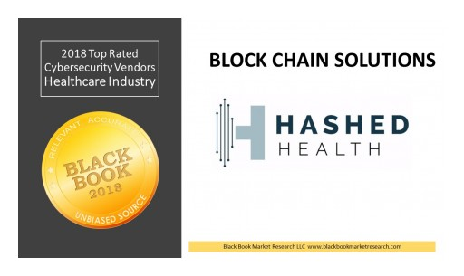 Hashed Health Ranks Top Blockchain Developer, 2018 Black Book Cybersecurity User Survey