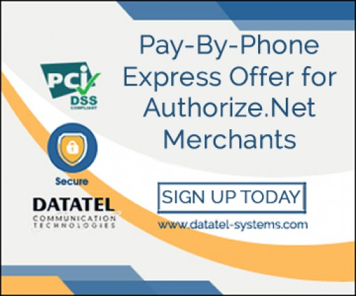 Datatel Announces IVR Payments Offer for Authorize.Net Merchants