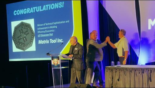 Micro Molder Matrix Tool Takes Two Top Plastics Technology's Honors