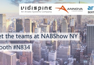 Meet John and the Arvato Systems Team at NABShow NY