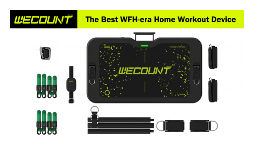 Wecount Introduces the World's First AI-Powered Portable Home Gym