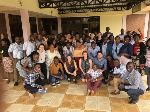 Spark MicroGrants Hosts Visitors in Rwanda From 7 Countries to Learn From the Inzire Y'Itirambere Process