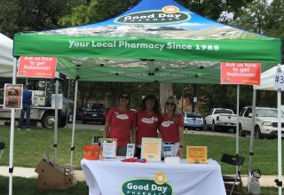 Good Day Pharmacy at Overdose Awareness Day 2018