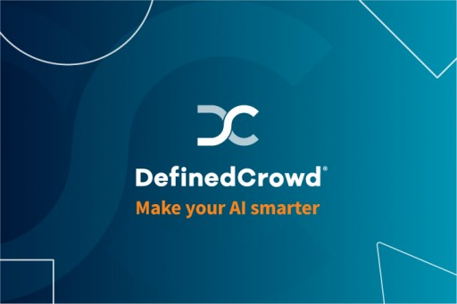 DefinedCrowd Launches Portfolio of AI Training Data Products