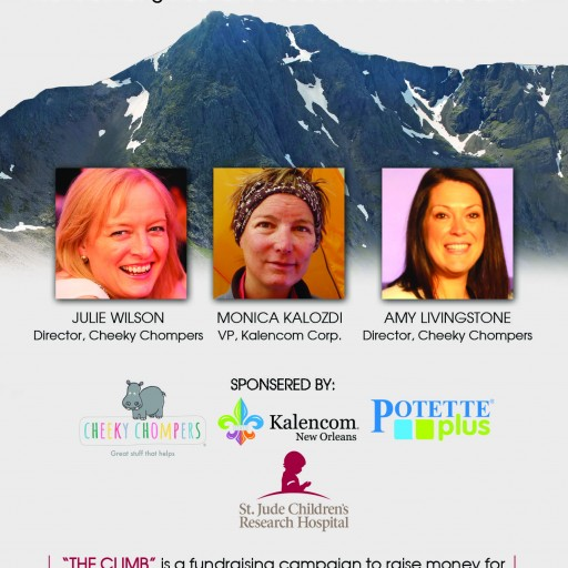 """""""The Climb"""" Moms Climbing Mountains for a Cure for Childhood Cancer"""