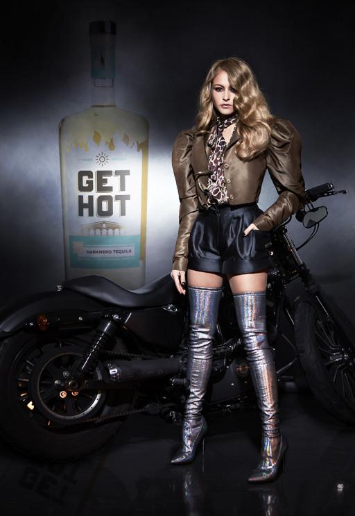Get Hot Tequila Announces Its First Brand Ambassador: Pop Superstar Paulina Rubio