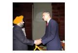 R.S Jaura with U.S. President, Mr. Barack Obama