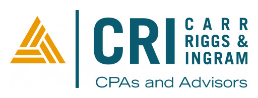 Nationally Ranked CPA and Advisory Firm Carr, Riggs & Ingram (CRI) to Host Cash Protection Webinar for Construction Organizations