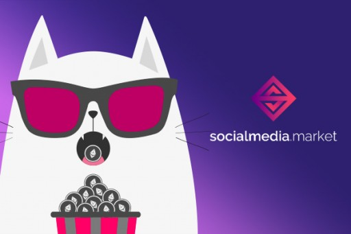 SocialMedia.Market Rewards Backers With CryptoKitties