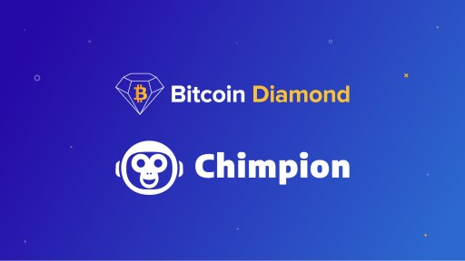 Chimpion Announces Support for Bitcoin Diamond (BCD)