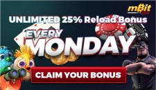 mBit Casino offers bonus on Bitcoin casino games