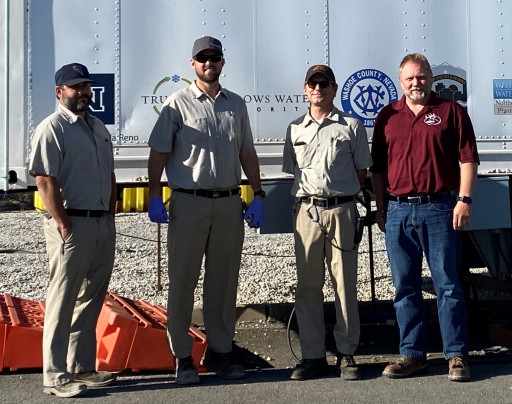 Nevada's Safety Consultation and Training Section Awards Reno-Stead Water Reclamation Facility With Top Safety Honor