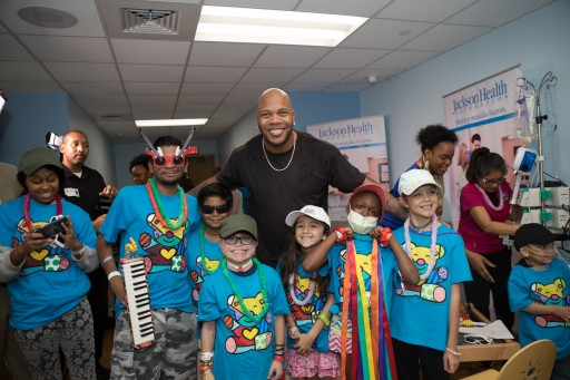 Rapper Flo Rida Becomes Jackson Health Foundation's First Celebrity Ambassador