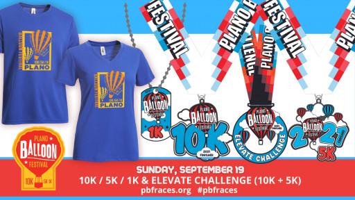 Plano Balloon Festival 10K, 5K & 1K Races Challenge Runners to Soar September 19