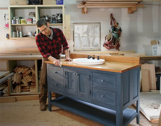 Polaris Home Design Breaks Ground with Custom Bathroom Vanities to Order