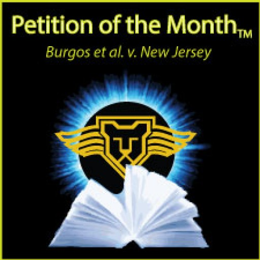 Supreme Court Press Awards Petition of the Month to the Firm Loccke, Correia for Burgos v. New Jersey