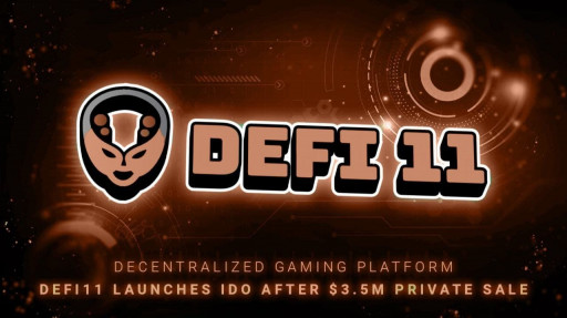 Decentralized Gaming Platform DeFi11 Launches IDO After $3.5M Private Sale
