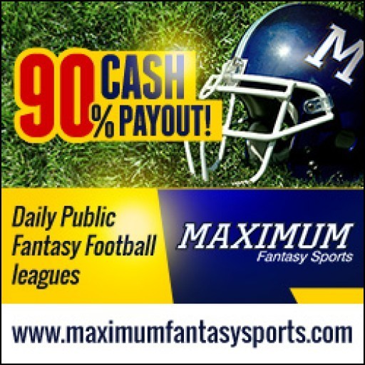 Maximum Fantasy Sports Opens Mid-Season Fantasy Football Leagues